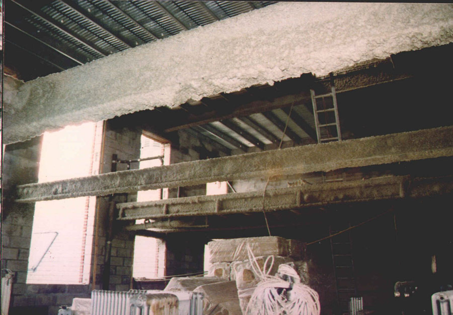 Spray Fire Proofing Econo Therm Insulation Company