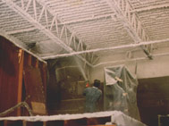 Spray Fire Proofing